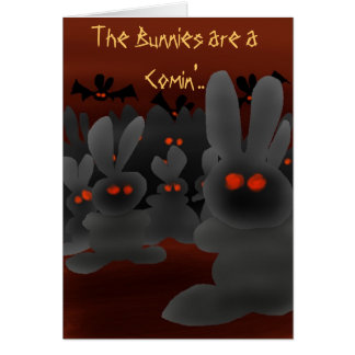 The Bunnies are a Comin'.. Cards
