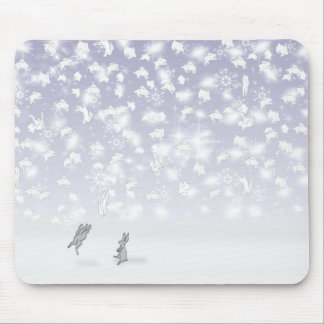THE BUNNIES OF SOLDOTNA, ALASKA MOUSE PAD