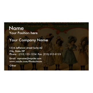 The Burgomaster Retro Theater Pack Of Standard Business Cards