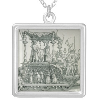 The Burgundian Marriage Silver Plated Necklace