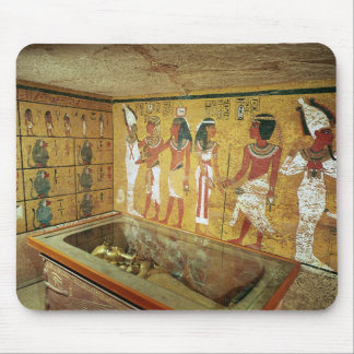 The burial chamber in the Tomb of Tutankhamun Mouse Mat