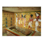 The burial chamber in the Tomb of Tutankhamun Postcard