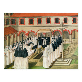 The Burial of a Nun from l Abbaye de Post Cards