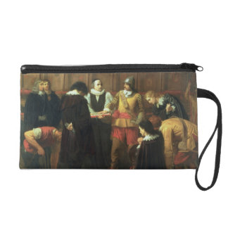 The Burial of Charles I (1600-49) at St. George's Wristlet Clutch