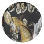 'The Burial of the Count of Orgaz' Plate