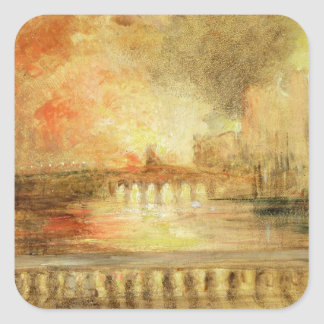 The Burning of the Houses of Parliament, previousl Sticker