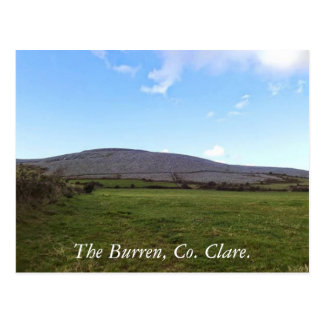 The Burren, Bellharbour, Co Clare Postcard