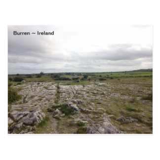 The Burren, Co. Clare, Ireland. Postcard