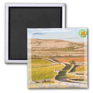 The Burren Square Magnet