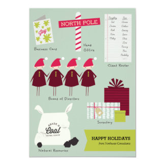 The Business of Christmas Corporate Holiday Card