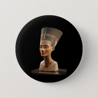 The Bust of Queen Nefertiti 6 Cm Round Badge
