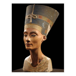 The Bust of Queen Nefertiti Postcard