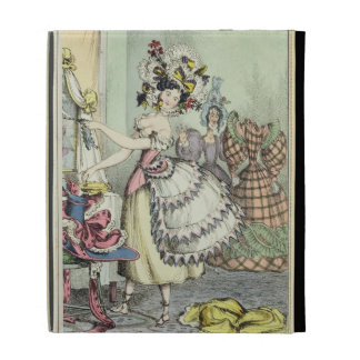 The Bustle, published by Thomas McLean, London (co iPad Folio Cases