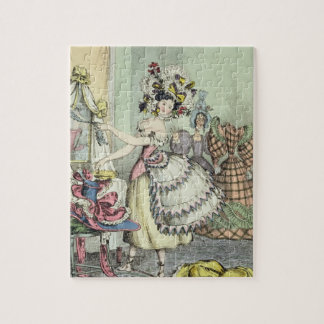 The Bustle, published by Thomas McLean, London (co Jigsaw Puzzle