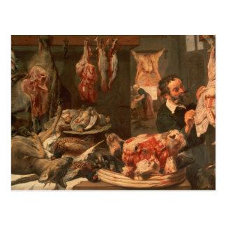 The Butcher's Shop Postcard