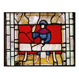 The Butcher's Window Postcard