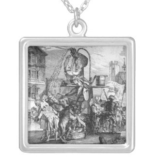 The Butifyer, A Touch upon The Times, 1762 Silver Plated Necklace
