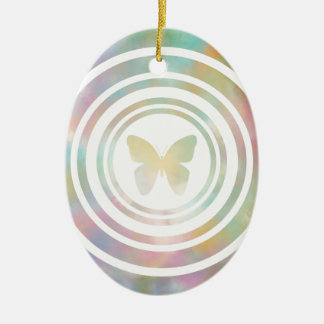 The Butterfly Effect Ceramic Oval Decoration
