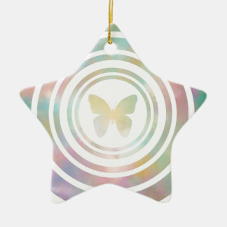 The Butterfly Effect Ceramic Star Decoration