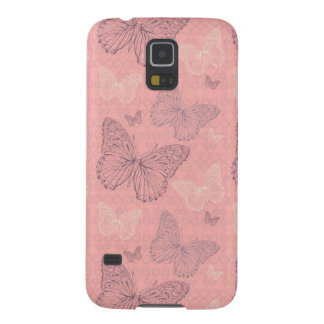 The Butterfly Pink Cases For Galaxy S5