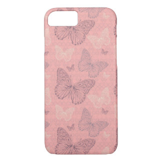 The Butterfly Pink iPhone 8/7 Case