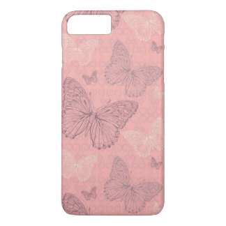The Butterfly Pink iPhone 8 Plus/7 Plus Case