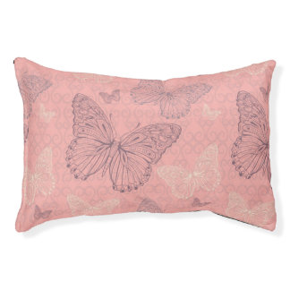 The Butterfly Pink Pet Bed