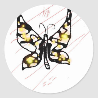 The Butterfly Project Classic Round Sticker