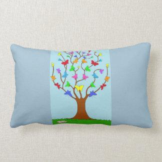 The Butterfly Tree Lumbar Cushion