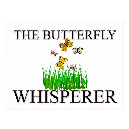 The Butterfly Whisperer Postcard