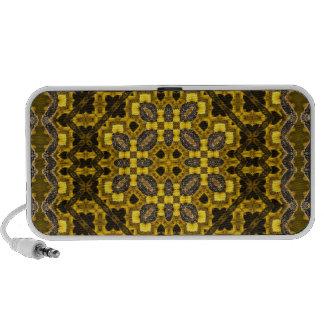 The Buzz Kaleidoscope Pattern Mini Speakers