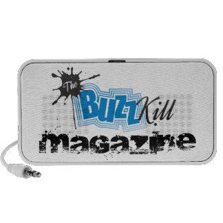 The Buzz Kill Magazine Travel Speakers