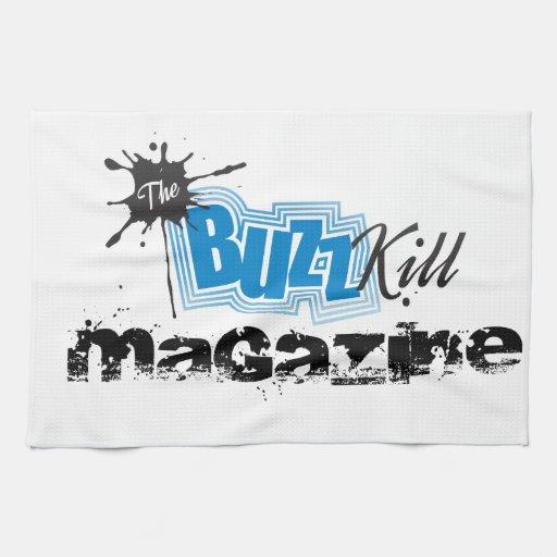 The Buzz Kill Magazine Towels