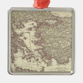 The Byzantine Empire until the Xite Silver-Colored Square Decoration