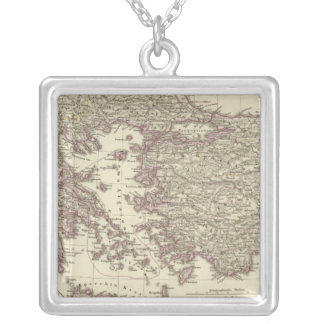 The Byzantine Empire until the Xite Silver Plated Necklace