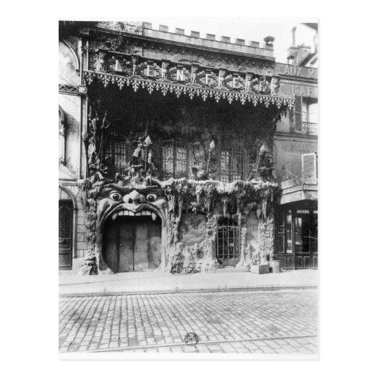 The Cabaret de 'l'Enfer' in Paris Postcard