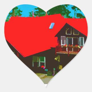 The Cabin 2 Heart Sticker