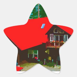 The Cabin 2 Star Sticker