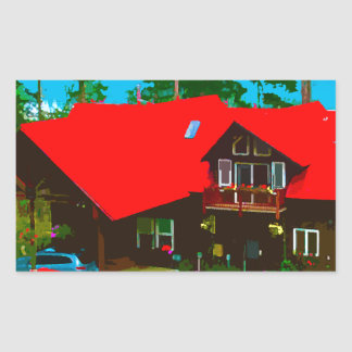 The Cabin 2 Rectangular Sticker