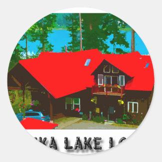 The Cabin 2 Round Sticker