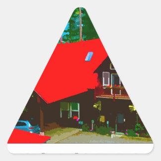 The Cabin 2 Triangle Sticker