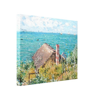 The Cabin at Saint-Adresse Gallery Wrap Canvas