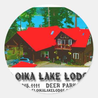 The Cabin Round Sticker