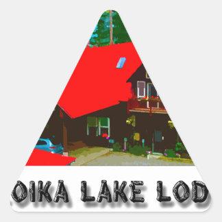 The Cabin Triangle Sticker