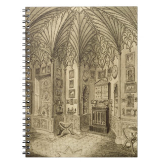 The Cabinet, engraved by T. Morris, from 'Descript Notebooks