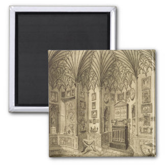 The Cabinet, engraved by T. Morris, from 'Descript Square Magnet