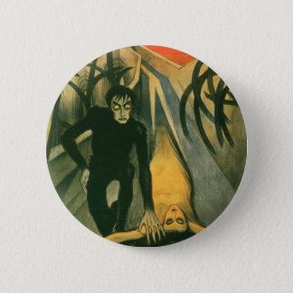 The Cabinet of Dr Caligari movie poster 6 Cm Round Badge