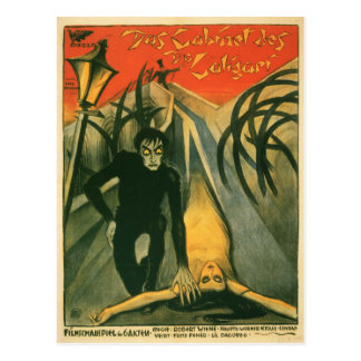 The Cabinet of Dr Caligari movie poster Postcards