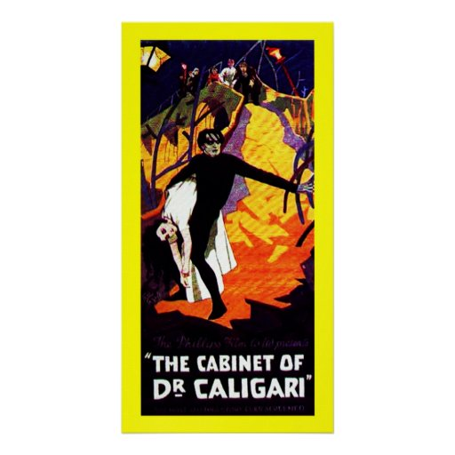 The Cabinet of Dr. Caligari Posters | Zazzle