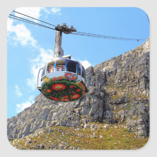 The Cable Car for Table Mountain Stickers